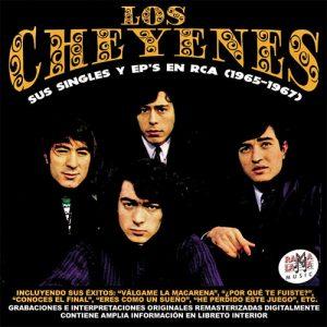 portada del disco Los Cheyenes