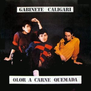 portada del disco Olor a Carne Quemada