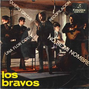 portada del disco No Sé Mi Nombre / Quiero Gritar / Una Flor Corté / Recopilación