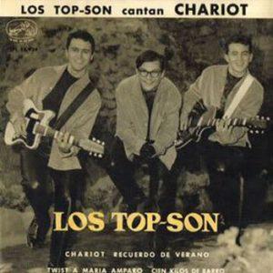 portada del disco Los Top Son Cantan Chariot