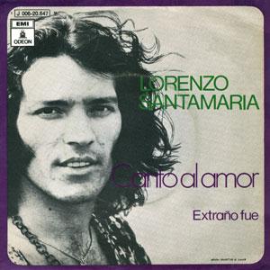 portada del disco Canto al Amor / Extraño Fue