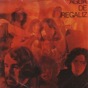portada del disco Agua de Regaliz