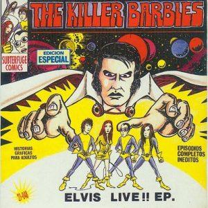 portada del disco Elvis Live!!