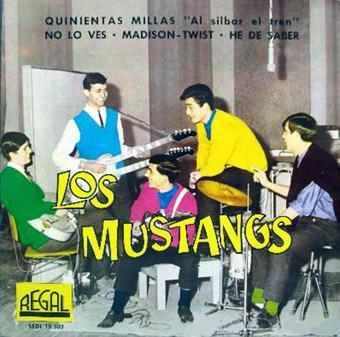portada del disco Quinientas Millas / No lo Ves / Madison Twist / He de Saber