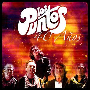 portada del disco 40 Años