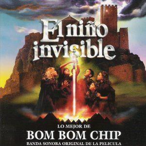 portada del disco El Niño Invisible. Lo Mejor de Bom Bom Chip