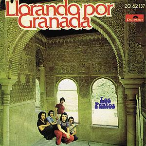portada del album Llorando por Granada