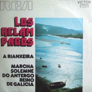 portada del disco A Rianxeira / Marcha Solemne do Antergo Reino de Galicia