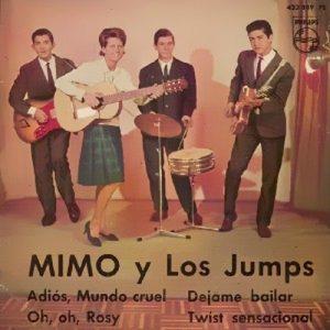 portada del disco Adios, Mundo Cruel / Oh, Oh, Rosy / Déjame Bailar / Twist Sensacional