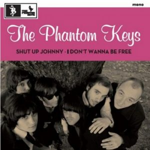 portada del disco Shut Up Johnny / I Don't Wanna Be Free