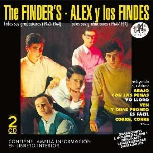 portada del disco The Finder's - Alex y Los Findes. Todas Sus Grabaciones