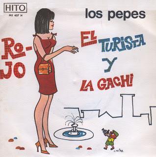 portada del disco Rojo / El Turista y la Gachí