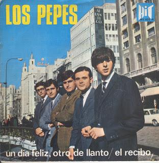 portada del disco Un Día Feliz, Otro de Llanto / El Recibo