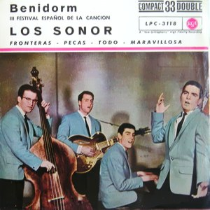 portada del disco Benidorm. III Festival Español de la Canción