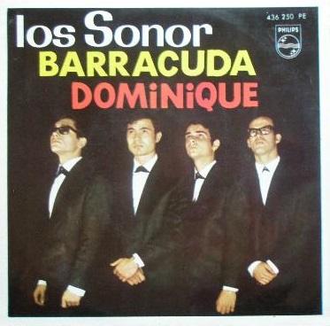 portada del disco Barracuda / Dominique