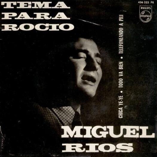 portada del disco Tema Para Rocío