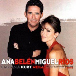 portada del disco Cantan a Kurt Weill