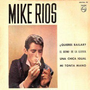 portada del disco Mike Ríos