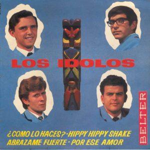 portada del disco ¿Cómo lo Haces? / Hippy Hippy Shake / Abrázame Fuerte / Por ese Amor