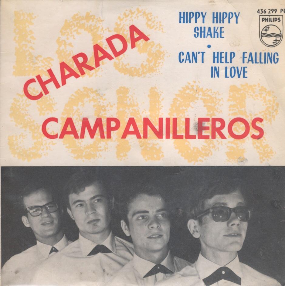 portada del disco Charada / Campanilleros