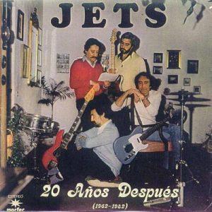 portada del disco Los Jets. 20 Años Después