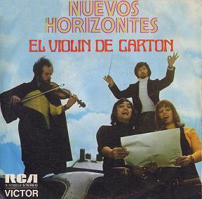portada del disco El Violín de Cartón