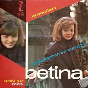 portada del disco Et Pourtant / Más / Una Lágrima en tus Ojos / Creo Yo