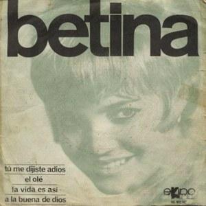 portada del disco Betina