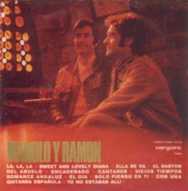 portada del disco Manolo y Ramón