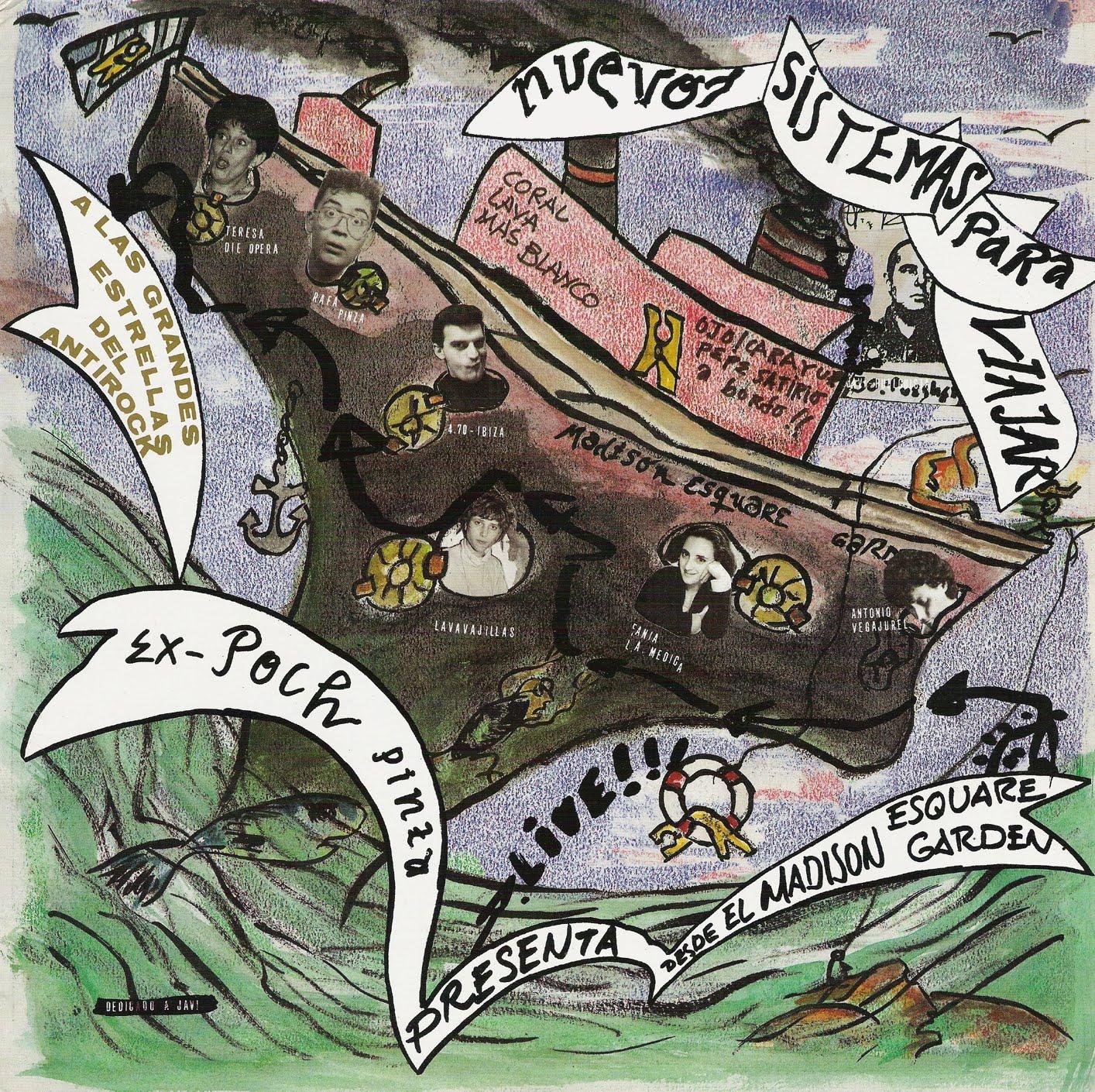 portada del album Nuevos Sistemas Para Viajar