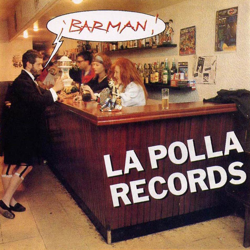 portada del disco Barman