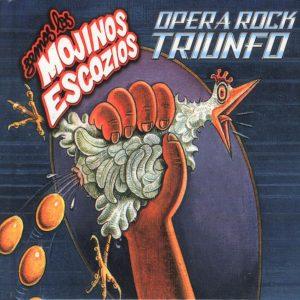 portada del disco Ópera Rock Triunfo