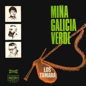 portada del disco Miña Galicia Verde