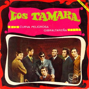 portada del disco Curva Peligrosa / Gibraltareña
