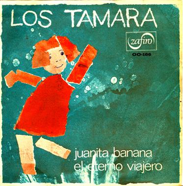 portada del disco Juanita Banana / El Eterno Viajero