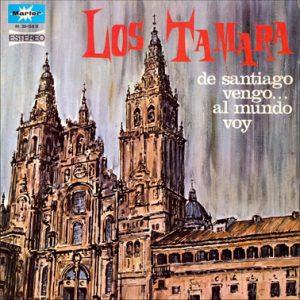 portada del disco De Santiago Vengo... al Mundo Voy