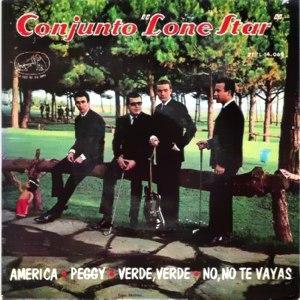 portada del disco América / Peggy / Verde, Verde / No, no te Vayas