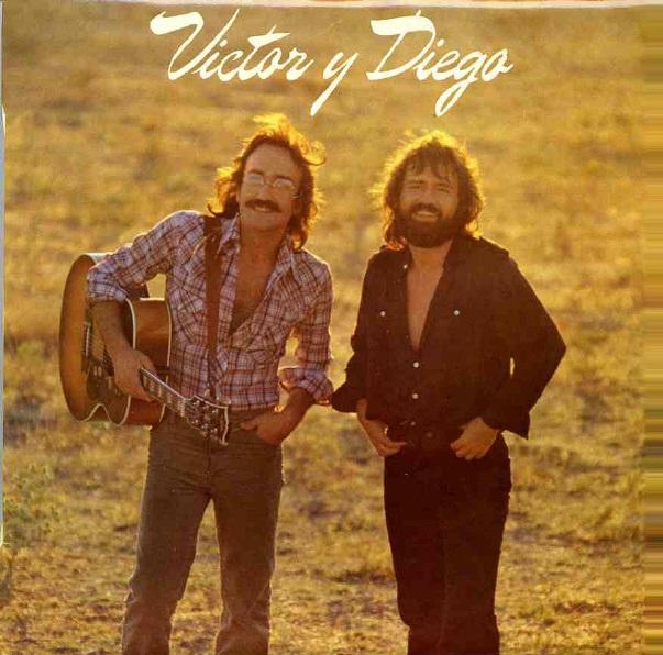 portada del disco Víctor y Diego