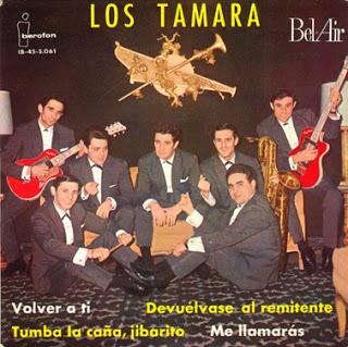 portada del disco Volver a ti / Tumba la Caña, Jibarito / Devuélvase al Remitente / Me Llamarás
