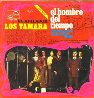 portada del disco El Hombre del Tiempo / El Afilador