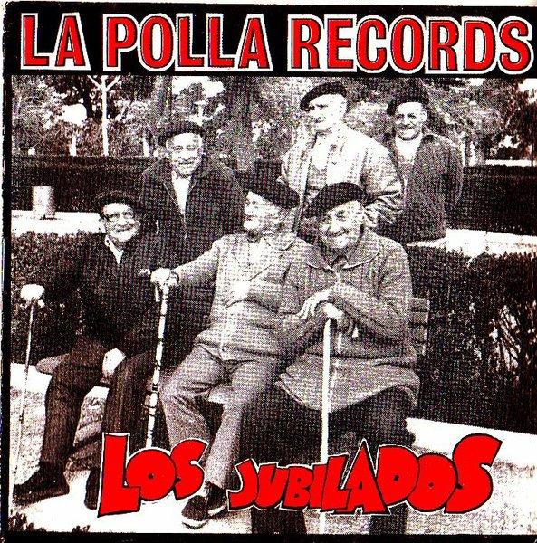 portada del disco Los Jubilados
