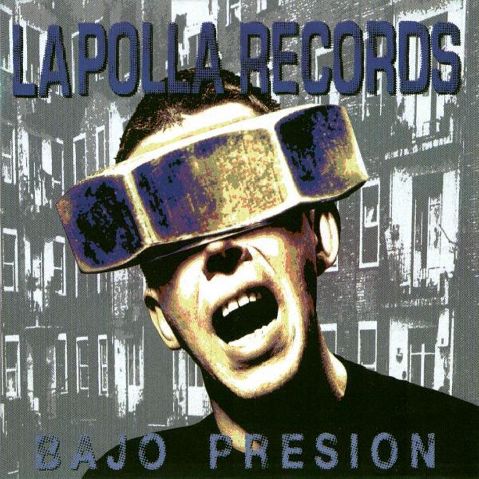 portada del album Bajo Presión