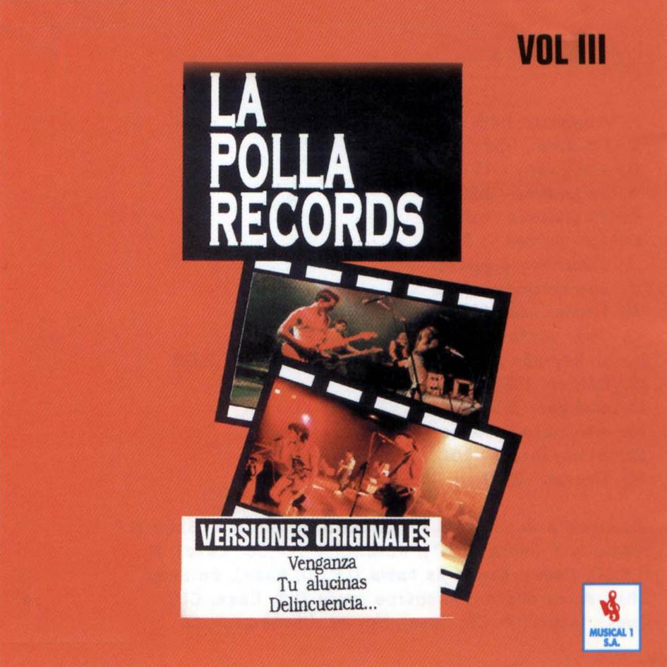 portada del disco Volumen III