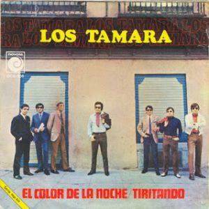 portada del disco El Color de la Noche / Tiritando