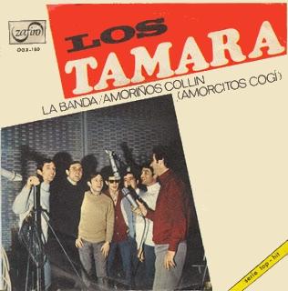 portada del disco La Banda / Amoriños Collín