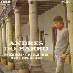 portada del disco Por Non Poder / A Uns Ollos Verdes / Homes / Deixa Que Chova