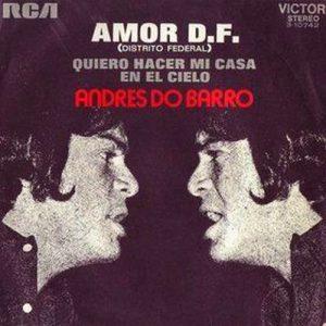 portada del disco Amor D.F. / Quiero Hacer Mi Casa En El Cielo