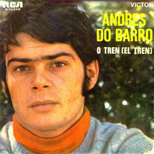 portada del disco O Tren / Miña Maruxa