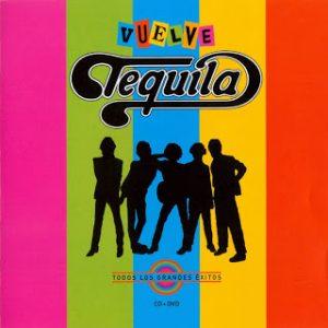 portada del disco Vuelve Tequila