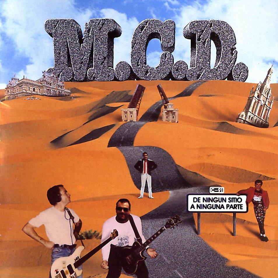 portada del album De Ningún Sitio a Ninguna Parte